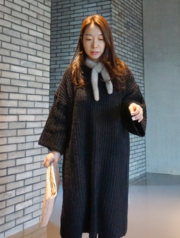 loose long knit ops