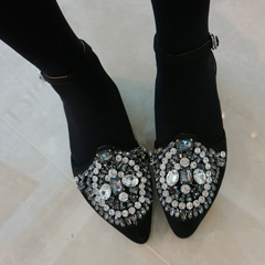 Jewell pointed shoes